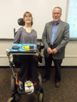 Brantley and Dr. Martin at Enhancing the Classroom with Disabled Students Presentation 1-8-2013 Thumbnail03