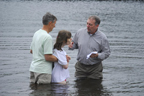 Brantley getting ready to be baptized 5-5-13 Thumbnail