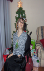 Brantley infront of her Christmas Tree 2012 Thumbnail