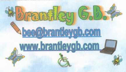 Brantley's Business Card