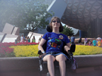 Brantley under Epcot Ball 6-2-12 Thumbnail