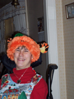 Brantley wearing Tigger Christmas hat 2004 Thumbnail