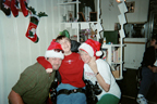 Roy, Brantley, and Connie Christmas 2003 Thumbnail